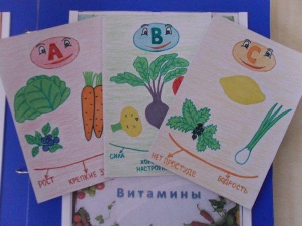 Картинки «Витамины»