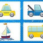 Игра Четвёртый лишний с такси, автобусом