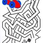Лабиринт с гоночной машинкой