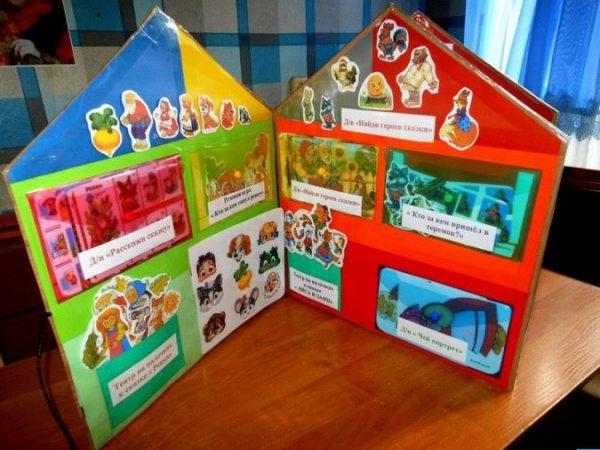 Лэпбук по сказкам для младших дошкольников