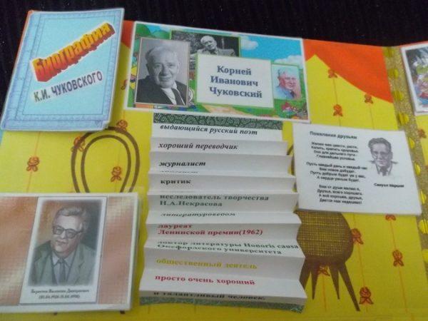Лента-раскладушка с характеристиками К. Чуковского