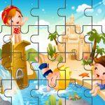 Картинка для пазла Дети на воде