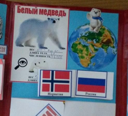 Места обитания белого медведя