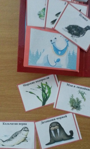 Животные и растения, являющиеся пищей белого медведя