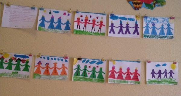 Готовые работы дошкольников