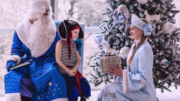 дед мороз и снегурка