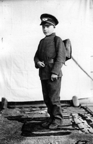 первоклассник в России до 1917