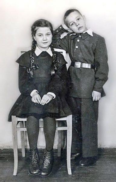 школьники в форме старое фото
