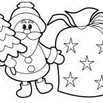 Дед мороз елка мешок
