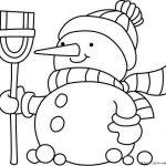 Снеговик толстячок