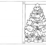 открытка с елкой 2
