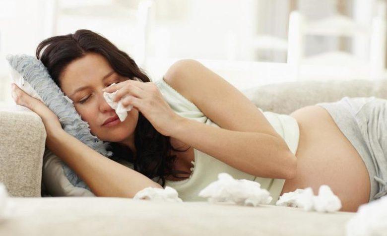 беременная стресс