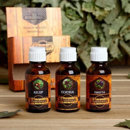 Эфирные масла хвойных деревьев (кедра, сосны, пихты)