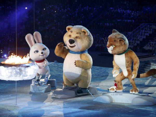Животные — символы Олимпиады 2014 в Сочи