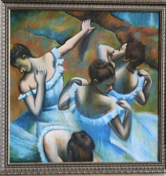 Картина Э. Дега «Голубые танцовщицы»