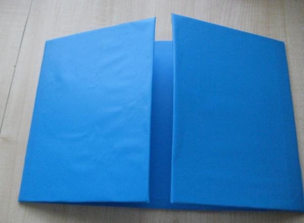 папка синяя
