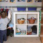 Детский гардероб по Монтессори